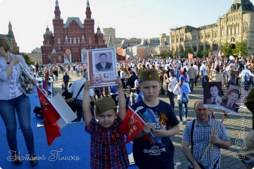 Ещё раз здравствуйте, дорогие друзья!!! В продолжение предыдущего репортажа (https://stranamasterov.ru/node/1028276) хочу рассказать вам, как мы провели День Победы в Москве. Масштабные мероприятия в этот день проходили, конечно же, по всему городу, но так как мы жили в районе ВДНХ, туда и отправились с самого утра. P.S. Картинка с сайта w-dog.ru (https://w-dog.ru/wallpaper/wot-world-of-tanks-mir-tankov-wargamingnet-bigworld-tanki-tank-tanks-tank-9-maya-den-pobedy-prazdnik-t-34-85/id/284415/). фото 30