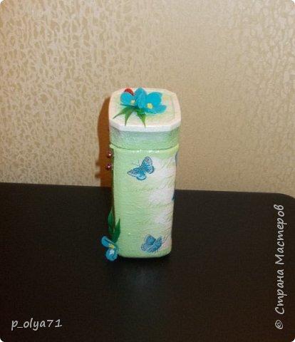 Здравствуйте!!  Думала,за бутылочки пока не возьмусь,но... нужно было сделать подарок,нашлась банка кофе...ну а уж салфетки,само собой,припасены)) А т.к. я не люблю делать по одной,набралось вот)) фото 6