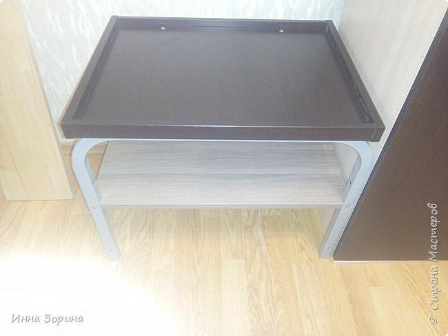 Притащил брат железную конструкцию от компьютерного стола,кроме железяк ничего не было. фото 3