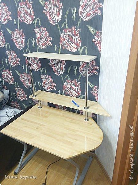 Притащил брат железную конструкцию от компьютерного стола,кроме железяк ничего не было. фото 2