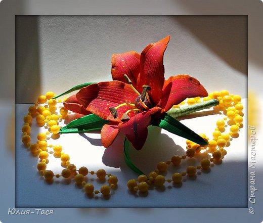 Учусь делать цветы из фома фото 4