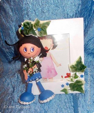 забавные куколки из фома по мк Е. Романовай  фото 5