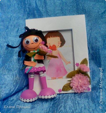 забавные куколки из фома по мк Е. Романовай  фото 6