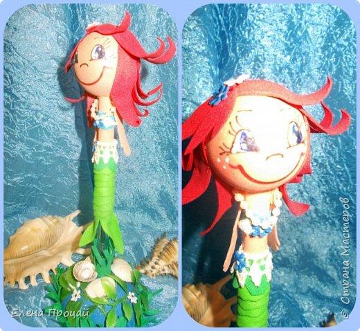 забавные куколки из фома по мк Е. Романовай  фото 3