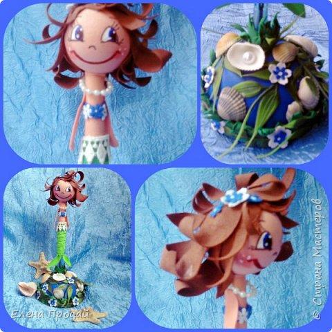 забавные куколки из фома по мк Е. Романовай  фото 4
