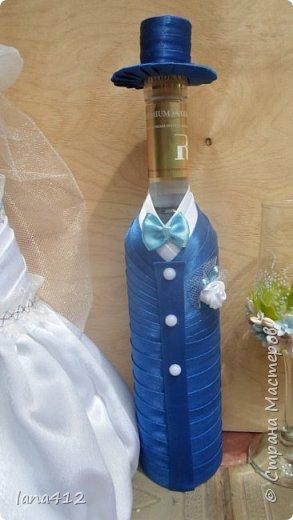 поступил заказик . Свадьба в голубом! счастья и здоровья молодоженам! фото 3
