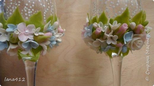 поступил заказик . Свадьба в голубом! счастья и здоровья молодоженам! фото 5