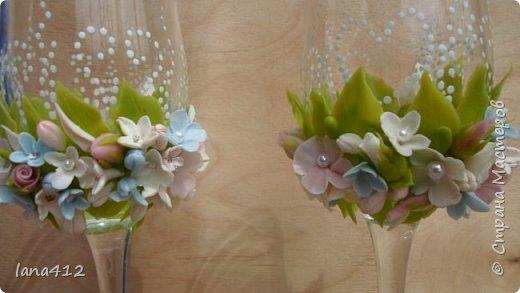 поступил заказик . Свадьба в голубом! счастья и здоровья молодоженам! фото 6
