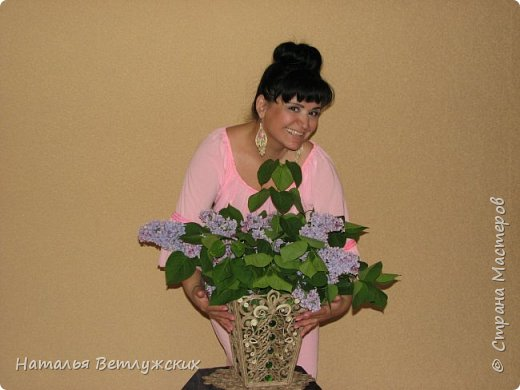Новая джутовая  ваза. фото 4