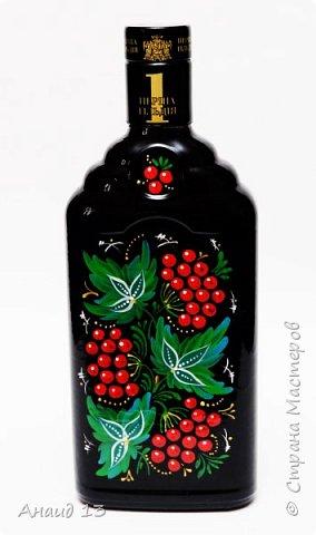 Бутылочку росписывала на заказ. фото 1