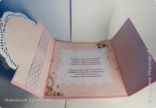 На свадьбу друзьям детей. Попросили сделать открытку в зеленых тонах. фото 13