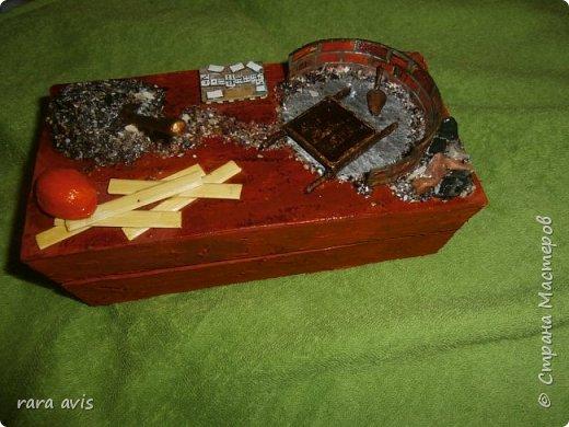 шкатулка тематическая в подарок бывшему строителю фото 1