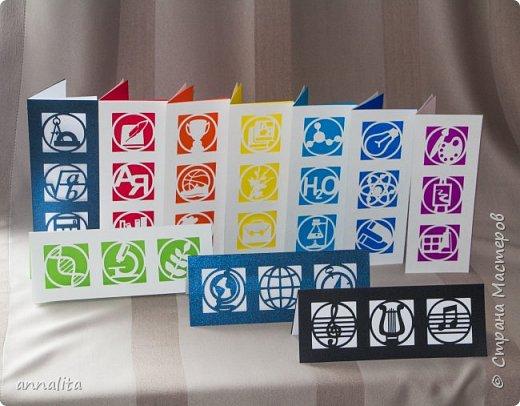 Здравствуйте всем! Приближаются выпускные и мне пришла задумка разработать открытки учителям-предметникам. Схемы к открыткам размещены найти на сайте Картонкино (http://kartonkino.ru/) фото 2