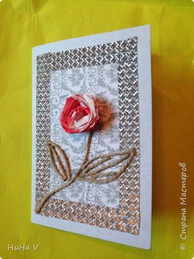 Добрый день, дорогие Мастара! Представляю вашему вниманию детские работы-открыточки , выполненные в смешанной технике. фото 3