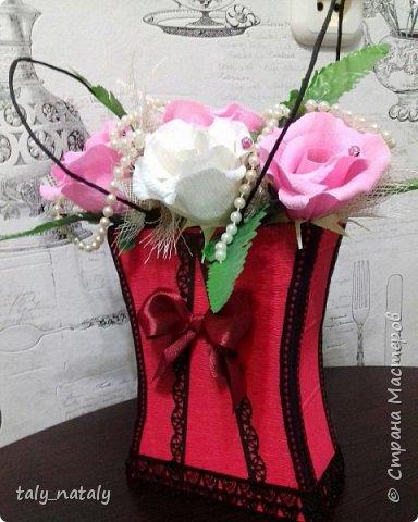 Сладкое дополнение к подарку сестренке. Стырено у http://stranamasterov.ru/node/606013?c=favorite Спасибо! Очень понравилась идея. фото 1