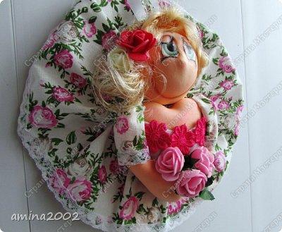 """Добрый день! Кукла """"Удача"""" (попик), по МК Е.Лаврентьевой, только из фоамирана. фото 2"""