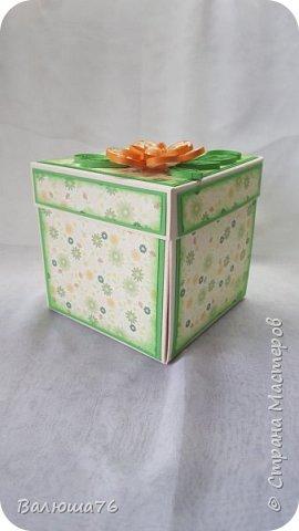 """Доброго времени суток всем,  кто зашел ко мне в гости. Хочу показать Вам свою первую коробочку). Гуляя по нашей Стране Мастеров и просматривая фотографии,очень мне понравилась  """"Коробочка с сюрпризом (Magic Box) с бабочками"""" от   Оленька15.! Спасибо за вдохновение! Захотелось сделать нечто такое же красивое. Ну а что получилось у меня,смотрите.Приятного просмотра.    фото 2"""