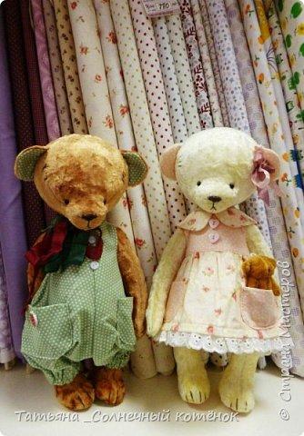 У Тедди-мишки Ягодки сегодня появилась подружка^^ Мери, на вид ангельское создание, но на деле та ещё разбойница ^^ фото 1