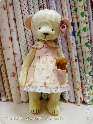 У Тедди-мишки Ягодки сегодня появилась подружка^^ Мери, на вид ангельское создание, но на деле та ещё разбойница ^^ фото 2