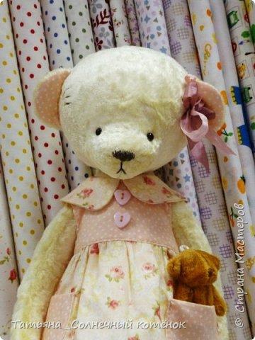 У Тедди-мишки Ягодки сегодня появилась подружка^^ Мери, на вид ангельское создание, но на деле та ещё разбойница ^^ фото 3