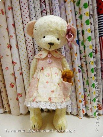 У Тедди-мишки Ягодки сегодня появилась подружка^^ Мери, на вид ангельское создание, но на деле та ещё разбойница ^^ фото 4