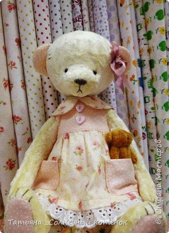 У Тедди-мишки Ягодки сегодня появилась подружка^^ Мери, на вид ангельское создание, но на деле та ещё разбойница ^^ фото 5