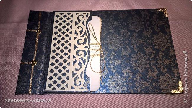 Блокнот с кармашком для заметок фото 2