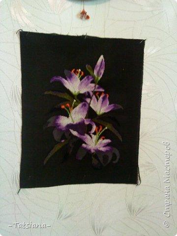 Набор Золотое руно, дизайнер Крат Мария,размер 38* 26,3 см (18 цветов), канва №14 чёрная.  фото 2