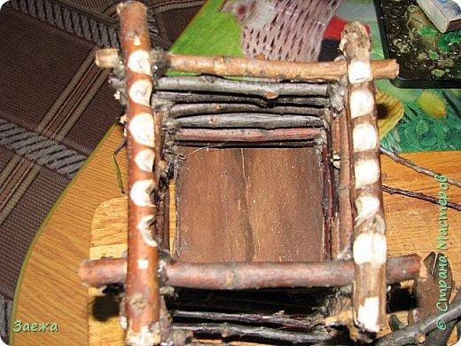 Избушка на курьих ножках, и Баба-Яга в ступе.  фото 3