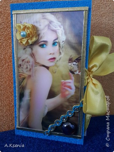 Именная шоколадница ''Оксана''. Сделала для себя любимой! :) фото 3