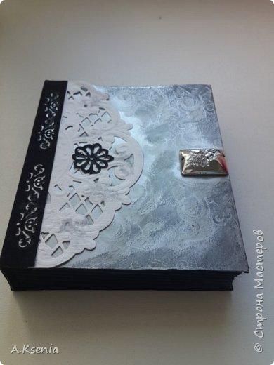 Вот такая коробочка-книжка в женском варианте у меня получилась на днях. фото 4