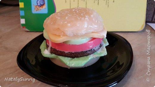 Гамбургер - сделано без специальной формы. фото 1