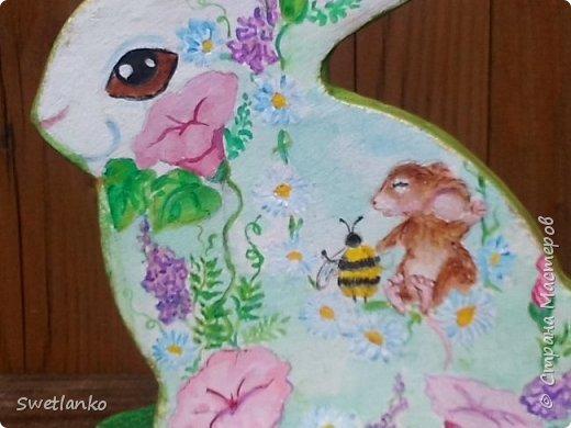 Весна на исходе, а я к вам со своими запоздалыми работами. Фотограф из меня никудышный, ну уж как получилось:-)   Вот такая поставка для пасхальных яиц, повторюшка идеи http://stranamasterov.ru/node/580950. фото 6