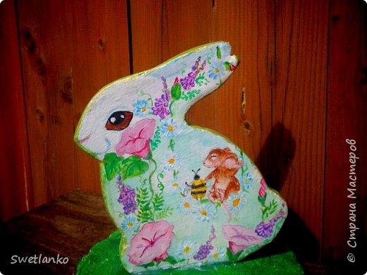 Весна на исходе, а я к вам со своими запоздалыми работами. Фотограф из меня никудышный, ну уж как получилось:-)   Вот такая поставка для пасхальных яиц, повторюшка идеи http://stranamasterov.ru/node/580950. фото 4