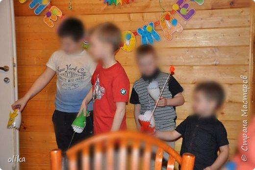 """День рождение сына """"Рыбацкая вечеринка"""" фото 5"""