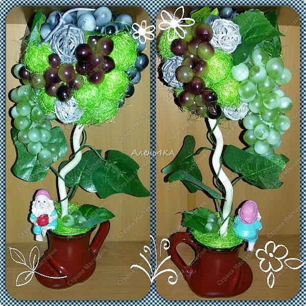 Вот и родился братишка для моего виноградного деревца https://stranamasterov.ru/node/1028217.  фото 1