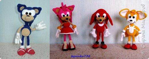 "Персонажи серии видеоигр ""Sonic the Hedgehog"" фото 1"