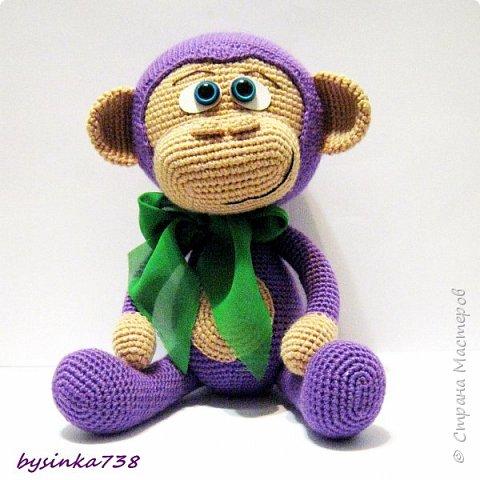 Просто фиолетовая обезьянка фото 3