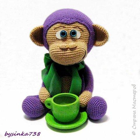 Просто фиолетовая обезьянка фото 2