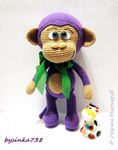 Просто фиолетовая обезьянка фото 1