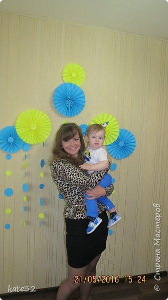 21 мая мой сынулька отпраздновал свой первый День Рождения!!!! Как быстро пролетело время..... Готовиться к празднованию я начала примерно за месяц.... фото 8