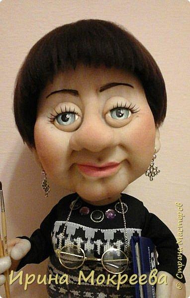 Ещё одна кукла в подарок учителю. фото 2