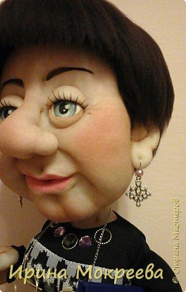 Ещё одна кукла в подарок учителю. фото 3