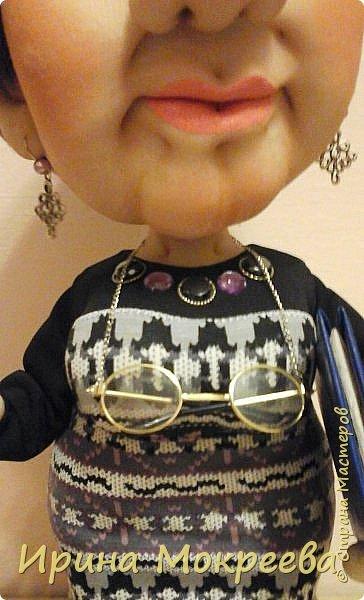 Ещё одна кукла в подарок учителю. фото 4