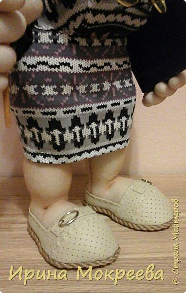 Ещё одна кукла в подарок учителю. фото 5