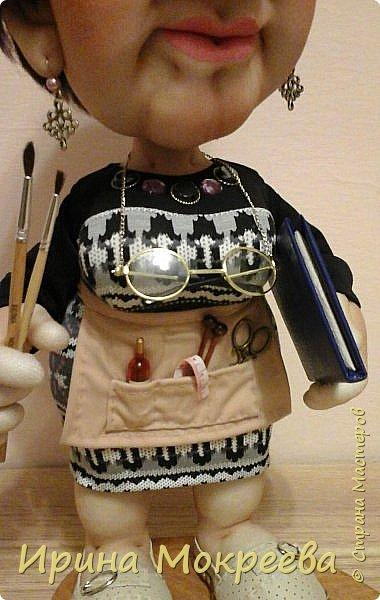 Ещё одна кукла в подарок учителю. фото 6