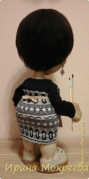 Ещё одна кукла в подарок учителю. фото 7