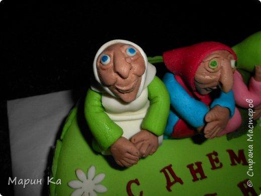"""Заказали тортик на ДР для девушки 27 лет)))))) Подружка пояснила, что именинница ее всегда """"подкалывала"""", вот теперь решила отомстить))))) фото 3"""
