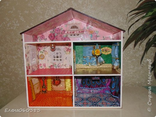 Продолжаю тему кукольных домиков фото 3