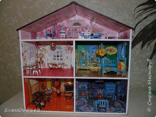 Продолжаю тему кукольных домиков фото 9